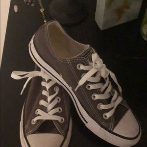 Grey converse! Worn once!